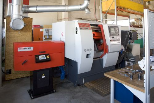 3-Achs CNC-Drehmaschine